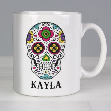 Personalised Mug - Sugar Skull